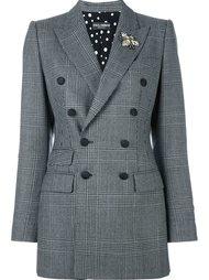 пиджак в клетку 'Prince of Wales' Dolce & Gabbana