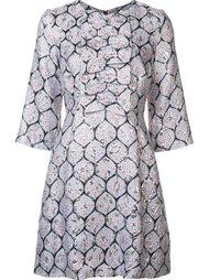 платье с рукавами три четверти  Suno