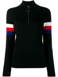 свитер с контрастными полосками   J.W.Anderson