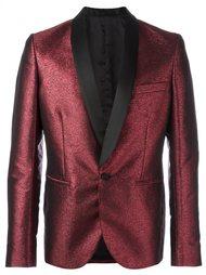 пиджак-смокинг с эффектом металлик  Christian Pellizzari