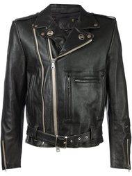 классическая байкерская куртка R13
