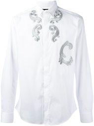 рубашка с вышивкой  Christian Pellizzari