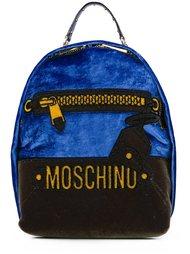 рюкзак с логотипом  Moschino