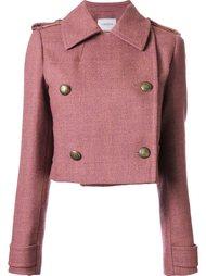 двухбортная куртка Lanvin