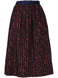 полупрозрачная плиссированная юбка Roberto Collina
