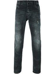 джинсы кроя слим Hydrogen