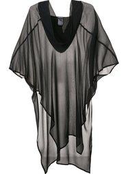 полупрозрачное платье-туника Ann Demeulemeester