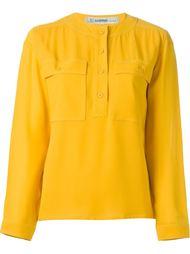блузка с круглым вырезом  Jean Louis Scherrer Vintage