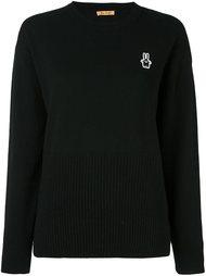 свитер с вышитым кроликом Peter Jensen
