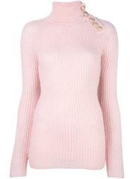 свитер в рубчик  Balmain