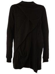 oversized wrap sweatshirt Rick Owens DRKSHDW