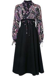"""платье-кимоно с принтом """"пейсли"""" G.V.G.V."""