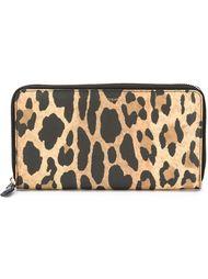 кошелек с леопардовым принтом   Givenchy