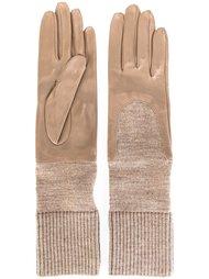 перчатки с трикотажными манжетами Gala