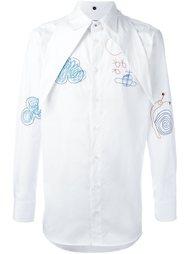 рубашка с простроченной отделкой Vivienne Westwood Man