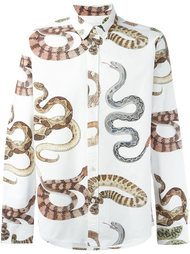 рубашка 'Zeder' с узором в виде змеи Soulland
