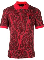 футболка-поло с принтом пейсли Alexander McQueen