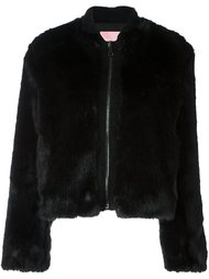 короткое пальто на молнии Giamba