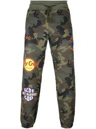 спортивные брюки с камуфляжным принтом  Gcds