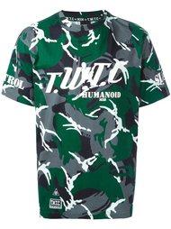 футболка 'Camouflage Humanoid'  KTZ