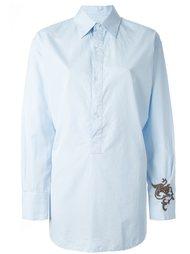 рубашка с вышивкой Barena
