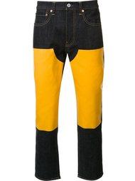 джинсы с кожаными вставками Junya Watanabe Comme Des Garçons Man