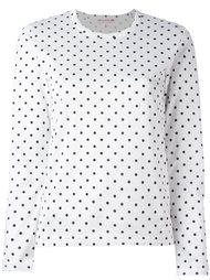 футболка в горох с длинными рукавами Comme Des Garçons Girl