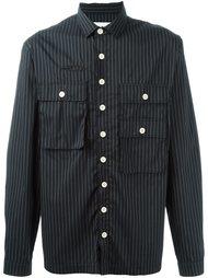 рубашка в полоску с карманами Sunnei