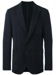 пиджак с замшевыми карманами Brioni