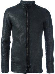 фактурная куртка на молнии Salvatore Santoro