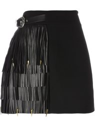 fringed A-line skirt  Fausto Puglisi