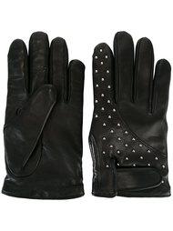 studded gloves Les Hommes