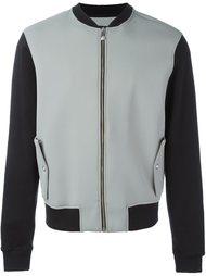 куртка-бомбер с логотипом на спине Versus