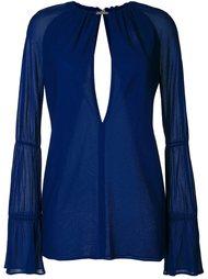 блузка с длинными рукавами  Jay Ahr