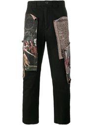 брюки прямого кроя Miharayasuhiro