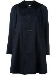 однобортное пальто Comme Des Garçons Girl