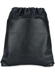 рюкзак с рельефным логотипом Givenchy