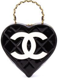 сумка в форме сердца Chanel Vintage