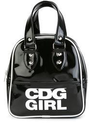 лакированная сумка с принтом логотипа Comme Des Garçons Girl