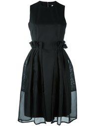 платье с прозрачными панелями Comme Des Garçons Noir Kei Ninomiya