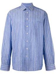 рубашка в полоску Raf Simons