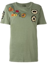 embroidered T-shirt  Mr & Mrs Italy