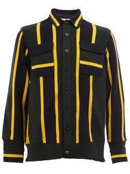 полосатый пиджак-рубашка Sacai