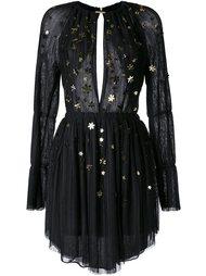 платье с аппликацией  Jay Ahr