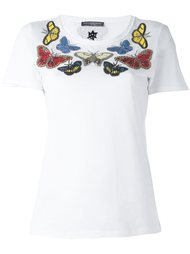 футболка с бабочками Alexander McQueen