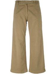 укороченные широкие брюки Current/Elliott