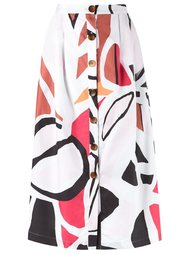 printed midi skirt Andrea Marques