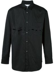 рубашка с вырезами  Comme Des Garçons Shirt