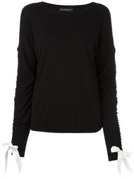 bow detailed sweater Rossella Jardini