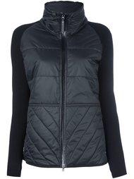 вязаная куртка с дутой вставкой  Adidas By Stella Mccartney
